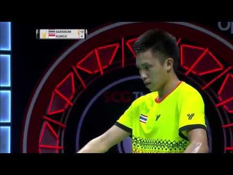 SCG Thailand Open 2016 | Badminton F M5-MS | Tanongsak Saensomboonsuk vs Sony Dwi Kuncoro