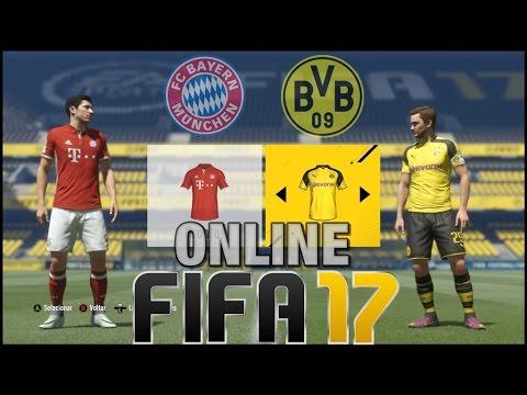 FIFA 17 - ONLINE - Borussia Dortmund BVB Vs Bayern de Munique