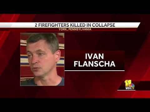2 Firefighters Killed In York, Pa. Fire