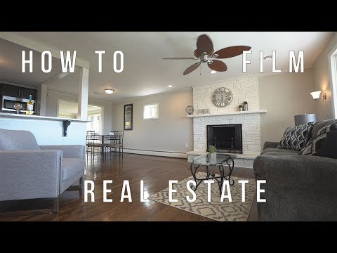 How to Shoot Real Estate videos | Sony a7iii | Real Estate How To