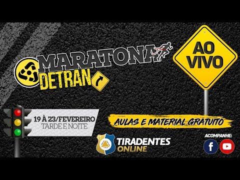 AO VIVO - TIRADENTES ONLINE MARATONA DETRAN-CE | PROF. RAFAEL ARAÚJO | PROF. GRAZIELA