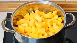 ПОТРЯСАЮЩЕЕ БЛЮДО из ТЫКВЫ Просто Сытно Вкусно Полезно Простой Рецепт за 30 минут