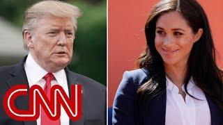 Trump calls Duchess of Sussex 'nasty' ahead of UK trip