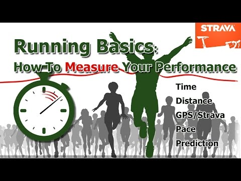 Running Basics: How to time your run, measure pace (speed/ca