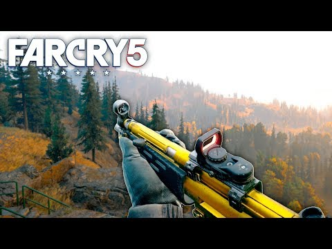 Far Cry 5 - GOLD MP5 CUSTOMIZATION AND HUNTING (Far Cry 5 Free Roam Gameplay) #32