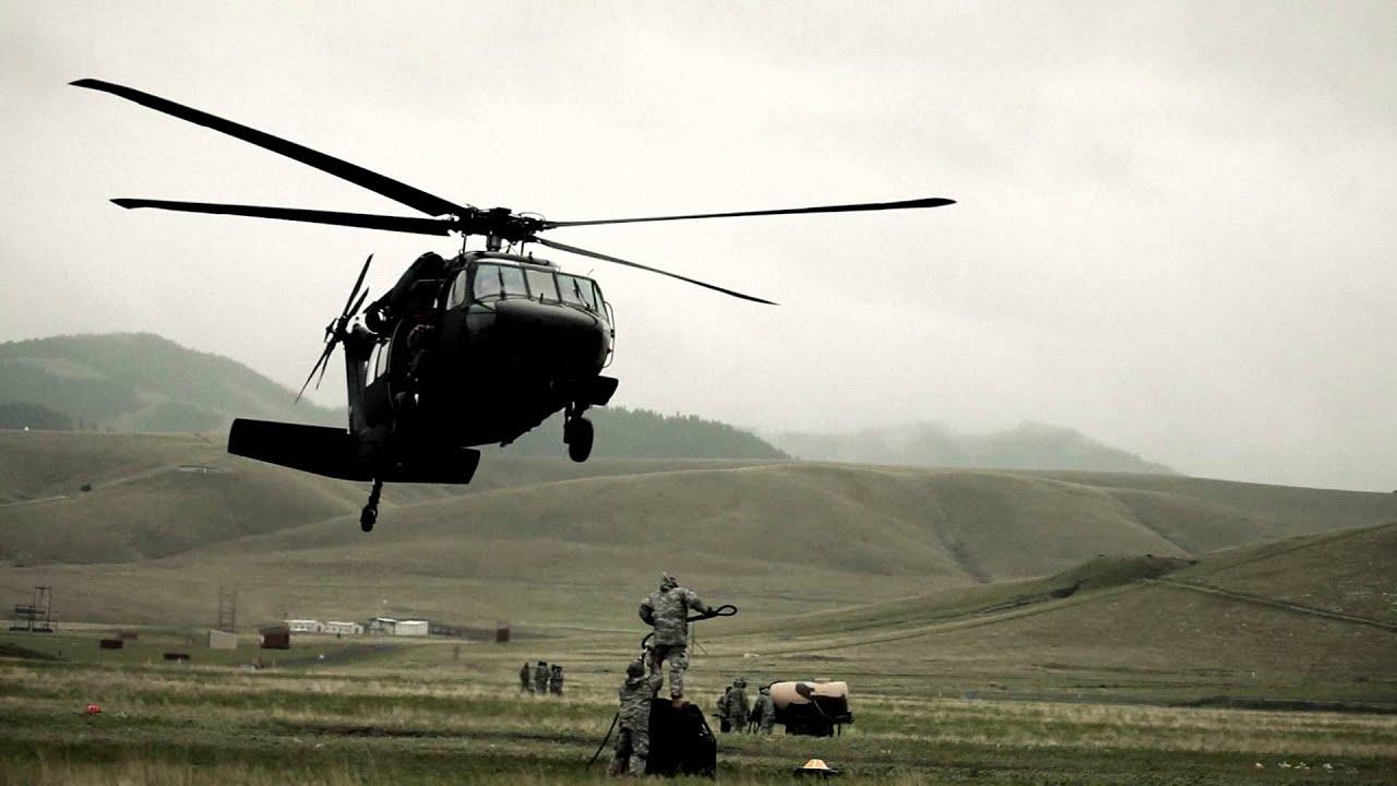 blackhawk helicopter firing