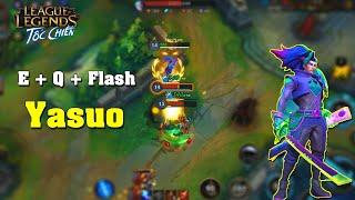 Liên Minh : Tốc Chiến | Người Việt Nam Đầu Tiên Được Riot Tặng Trang Phục | Màn Thể Hiện E Q Flash