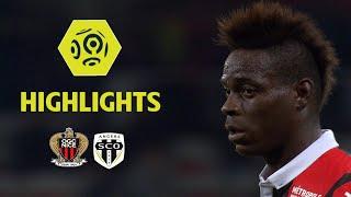 OGC Nice - Angers SCO (2-2) - Highlights - (OGCN - SCO) / 2017-18