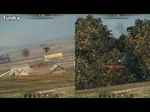bf0d3c594927 World Of Tanks Tundra mod vs Vanilla mod - YouTube