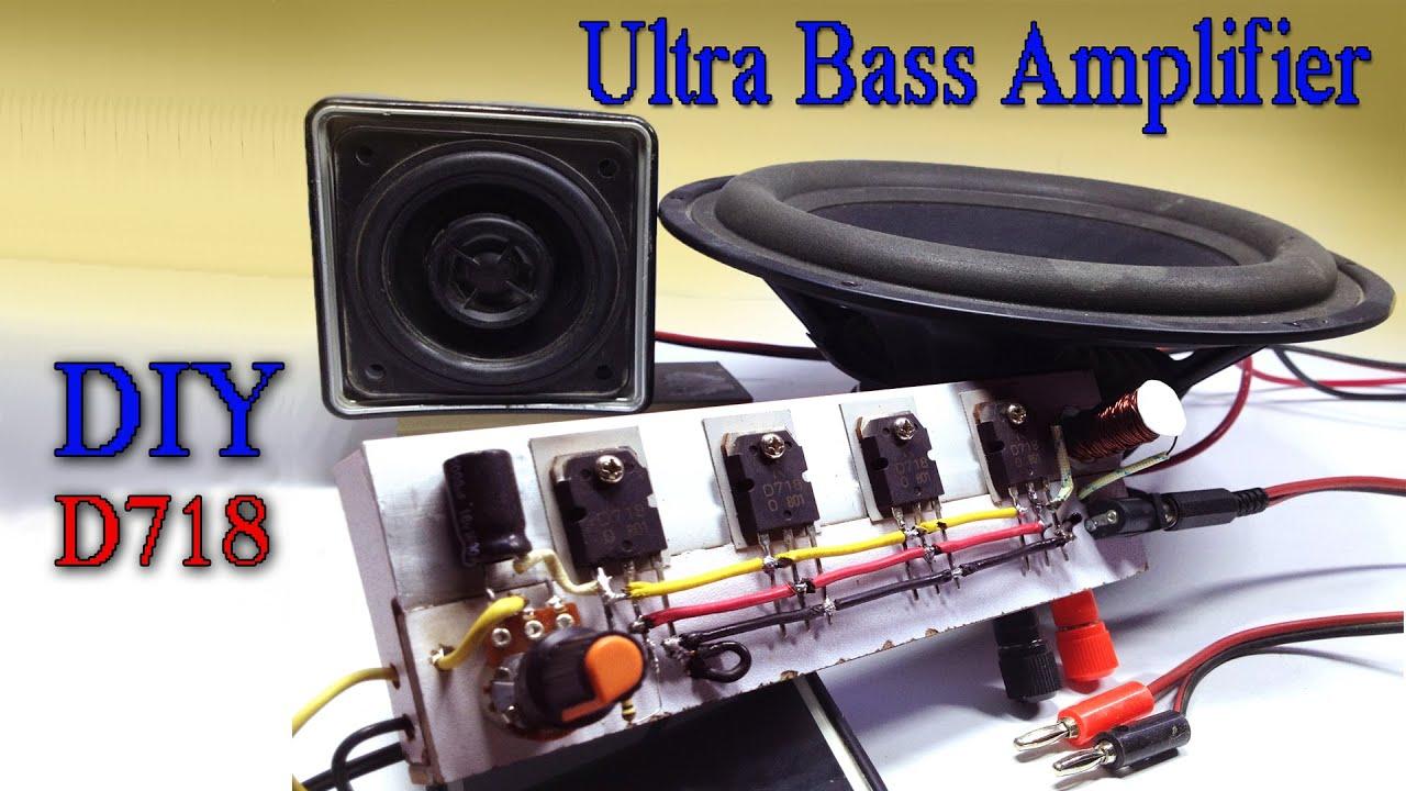 Ultra Bass Amplifier Extreme Power