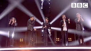 One Direction performs 'Steal My Girl' | BBC Music Awards 2014 - BBC