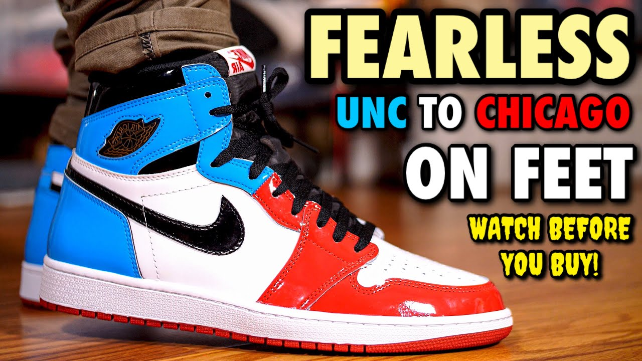 vast selection outlet store sells WORTH $160? AIR JORDAN 1 FEARLESS REVIEW & ON FEET! EARLY LOOK!