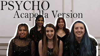 Acapella Version!!! [FRESA] Red Velvet 레드벨벳 'Psycho' // DANC…