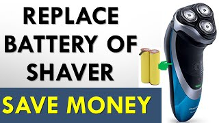 Electric Shaver/Trimmer  rechargeable Battery Replacement