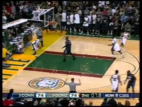 2008 UConn Gonzaga AJ Price Game Tying 3