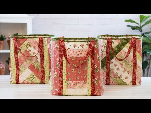 Making June Tailor Shopper Totes | A Shabby Fabrics Tutorial