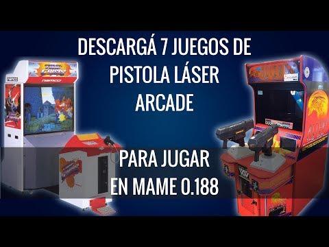 Descargá 7 Juegos De Pistola Láser (Roms) • Para Jugar En Mame + Configuración De Cada Uno