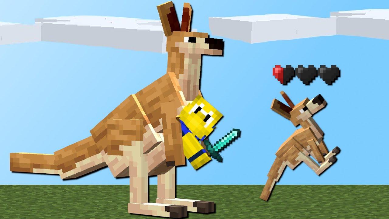 Gefährliches Känguru! (Raben, Hai, Schildkröten) - Alex Mobs Mod