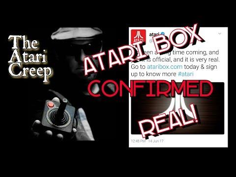 The Atari Creep: Atari Box CONFIRMED REAL!