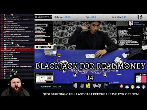 Zeke Plays: Blackjack For Real Money 14