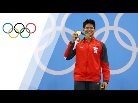 Joseph Schooling wins Singapore's first ever gold medal