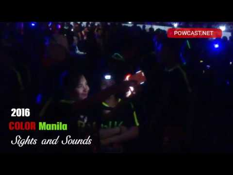 2016 Color Manila Run Night Edition Sights and Sounds