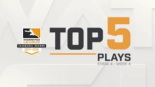 Overwatch League Top 5 Plays – Stage 4 – Week 4