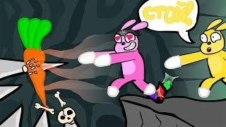 СУПЕР ОПАСНЫЕ КРОЛИКИ ► Super Bunny Man 8 Прохождение