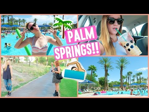 ALISHA GOES TO PALM SPRINGS!!!