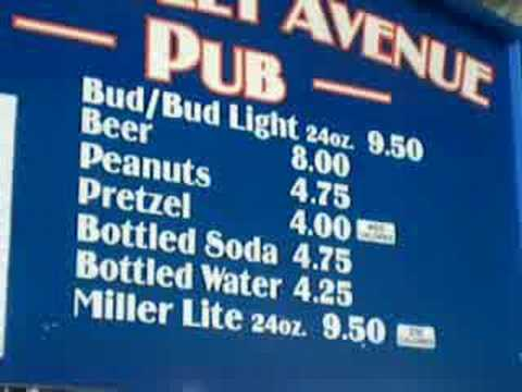 Shea Stadium Beer Prices