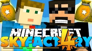 I WANT ALL THE *FREE* LOOT BAGS!! in Minecraft: Sky Factory 4!