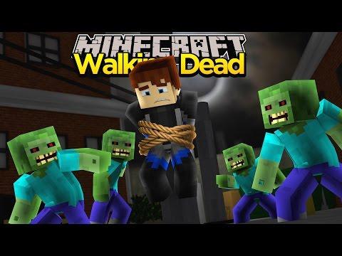 Minecraft THE WALKING DEAD - LITTLE KELLY GOES MISSING!!