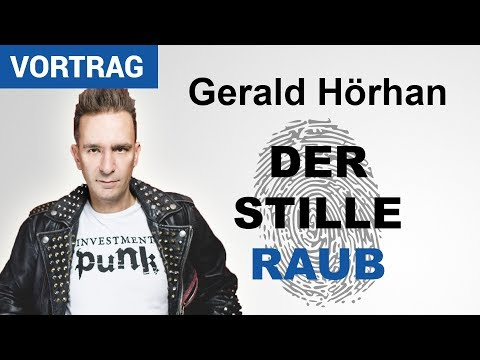 Investment Punk Gerald Hörhan | Der stille Raub | Karlsruher Institut für Technologie (KIT)