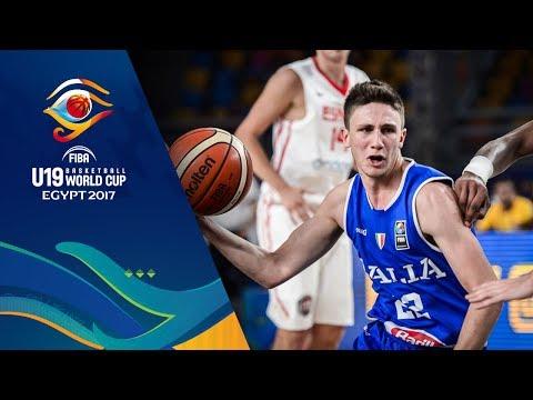 Spain v Italy - Full Game - Semi-Final - FIBA U19 Basketball World Cup 2017