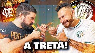 TRETA NA LIBERTADORES: FRED EXPLICA BRIGA COM A TORCIDA DO PALMEIRAS!