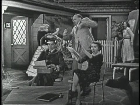 George Burns & Gracie Allen Show S2E19 George tries to write a speech (May 22, 1952)
