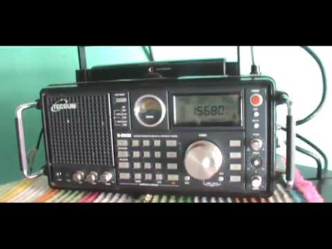 15680 kHz China Radio International in French ( Ondes courtes 19 mètres )