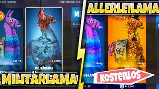FREE ALLERLEILAMA & MILITARYLAMA'S FOR V-BUCKS BACK! | FORTNITE: RETTE THE WORLD