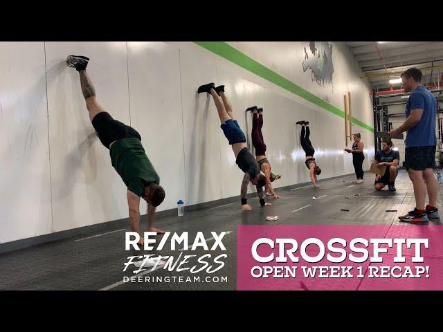 CrossFit Open 21.1 Recap-Wall Walks and Double-Unders