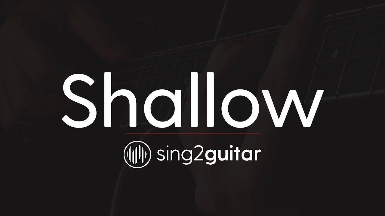 Shallow (Acoustic Guitar Karaoke Instrumental) Lady Gaga & Bradley Cooper image