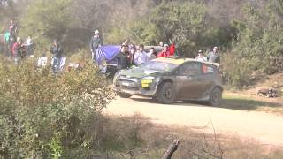 Accidente de Lorenzo Bertelli - Rally Argentina 2014 - SS03