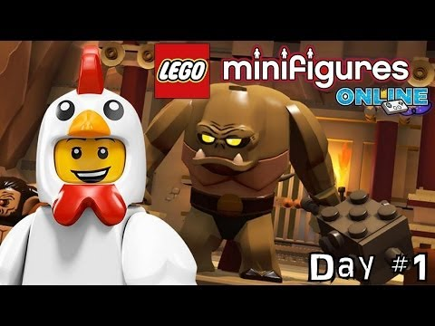 LEGO Minifigures Online Diary #1 - Getting Started, Membership, In App Purchases