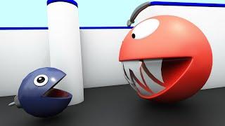 Pacman vs Chain Chomp Monster Pacman 02