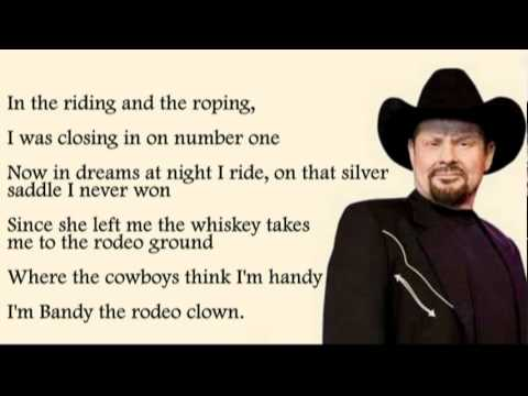 Moe Bandy - Bandy The Rodeo Clown with Lyrics