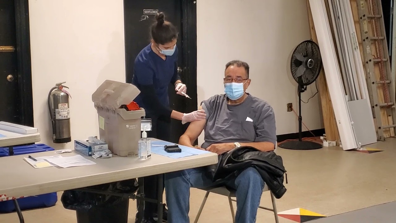 COVID-19 Vaccine Equity Team Organized Three Vaccine Clinics for Ramapough Lenape Indian Nation