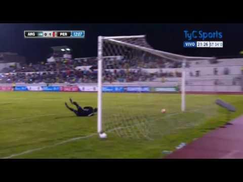argentina logro un agonico empate en su debut en el sudamericano sub20