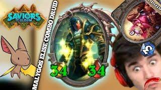 Pogo Rogue vs a Scary MC Tech | Firebat Hearthstone | Saviors of Uldum