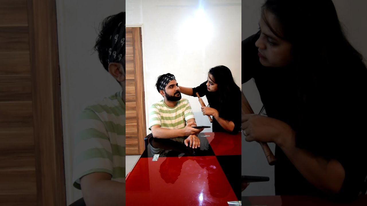 WHEN YOU ARE TALKING TO YOUR BEST FRIEND ABOUT MARRIAGE AND YOUR WIFE COMES😱😱 #shorts #youtubeshorts