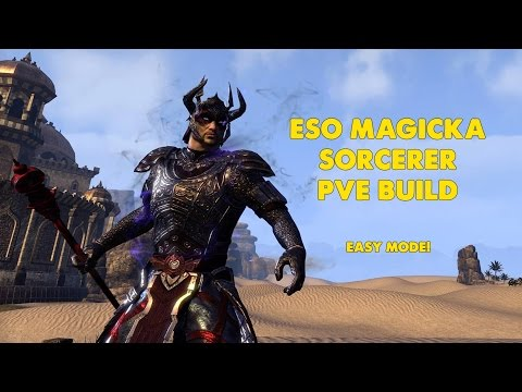 Eso Sorcerer Staff Build
