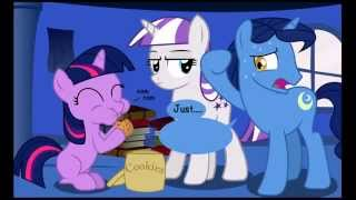 """twilight And The Cookie Jar"" Mlp Comic Reading"